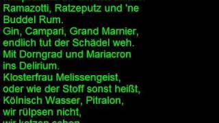 Otto Waalkes Wir haben Grund zum Feiern mit Lyrics thumbnail