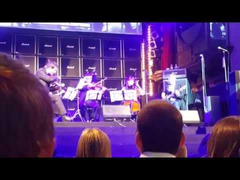Glen Matlock Sex Pistols and string quartet jamming PRETTY VACANT