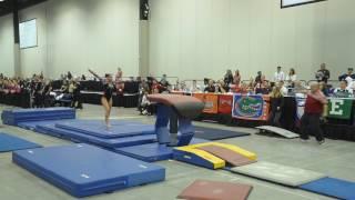 Sydney Gonzales - Vault 2 - 2017 Women's Junior Olympic Championships