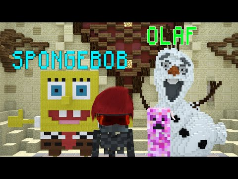 Monster School: Build Battle | Animation Characters - Minecraft Animation