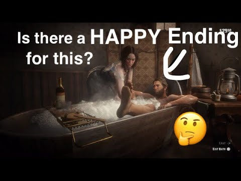Red Dead Redemption 2 is there a HAPPY ending when taking a bath????