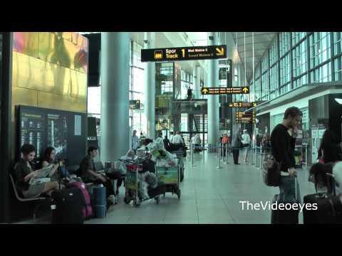 Copenhagen Airport 2011 - Terminal 3 - Metro