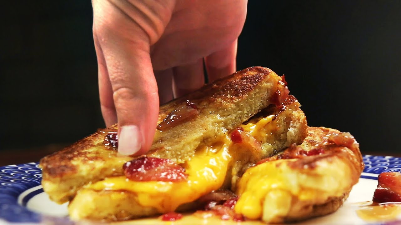 recipe: french toast with bacon and cheese [35]