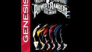 Mighty Morphin Power Rangers: The Movie (Sega Genesis)