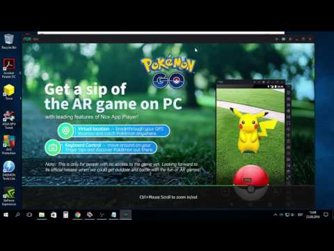 HOW TO GET POKEMON GO ON YOUR COMPUTER (with nox)!