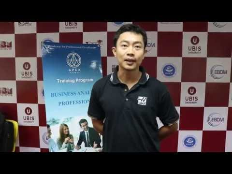 [Review - Business Analysis Professional Course] Mr. Le Tu Truong An - AIG Insurance Vietnam