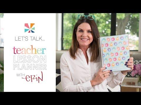 Let's Talk Teacher Lesson Planner 2017 - 2018