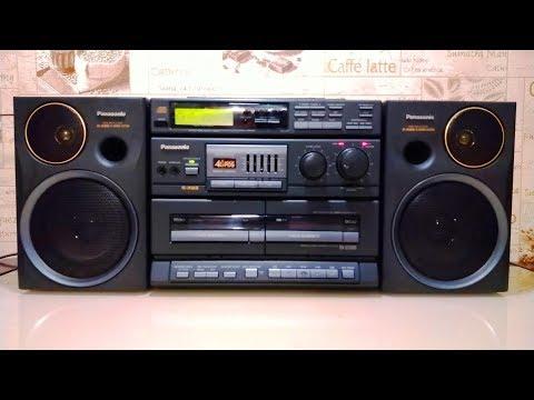Классика 90-х. Panasonic RX-DT680 Профилактика и ремонт