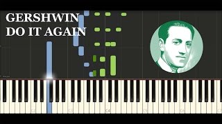 Gershwin - Do it again (Synthesia Tutorial)