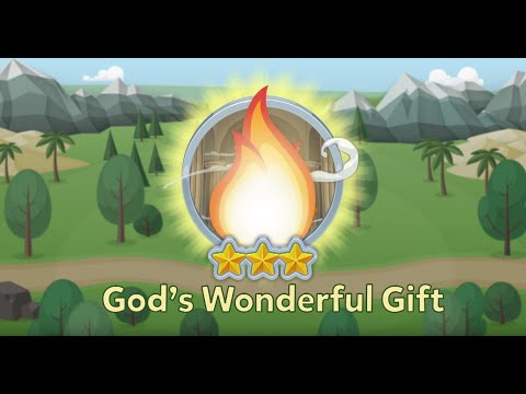God's Wonderful Gift | BIBLE ADVENTURE |...