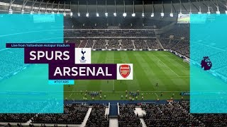 FIFA 19 | Tottenham vs Arsenal - New Tottenham Hotspur Stadium - (Full Gameplay Xbox One X)