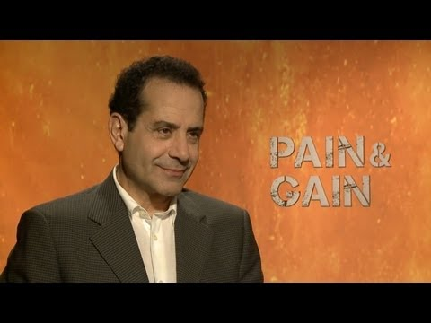 Tony Shalhoub - Pain & Gain Interview HD - YouTube