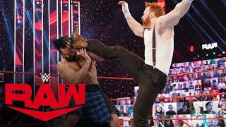 Edge's confrontation with Drew McIntyre ends with a Sheamus Brogue Kick: Raw, Feb. 1, 2021