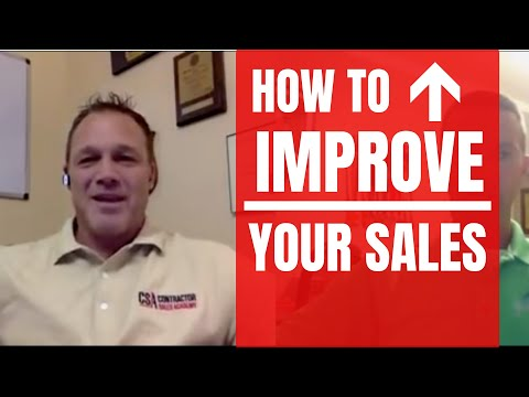 How Contractors Can Instantly Improve Their Sales