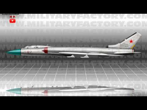 Tupolev Tu 28 Tu 128 Fiddler Interceptor (Soviet Union)