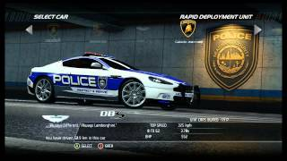 NFS Hot Pursuit - All Cars [Police] (Including DLC)