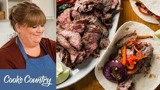 How to Make Smoked Fish Tacos and Grilled Steak Fajitas