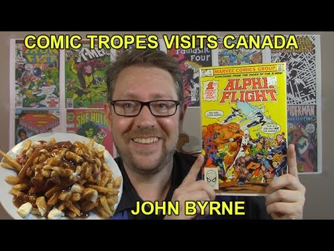 John Byrne's Techniques and a Visit to Canada - Comic Tropes (Episode 12)