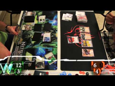 Netrunner LCG - Colorado Springs Regional 2014 - Game 9