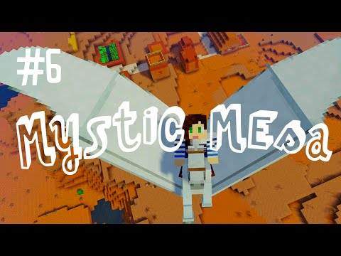 POGONIP THE PEGASUS - MYSTIC MESA MODDED MINECRAFT (EP.6)