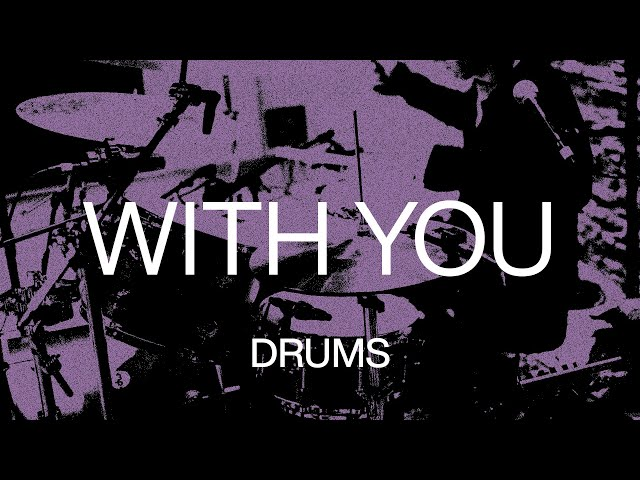 With You | Official Drums Tutorial | At Midnight | Elevation Worship
