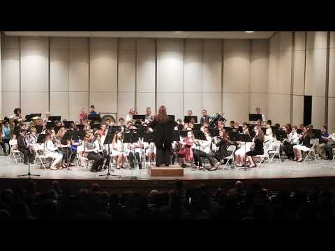 """Santa's Noisy Workshop"" Norfolk Middle School 6th grade Band 2017"
