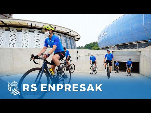 RS ENPRESAK   Sobre ruedas con IBK Bike   Real Sociedad