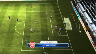 FIFA 12 PC Gameplay Challenge Aston Villa Vs Arsenal