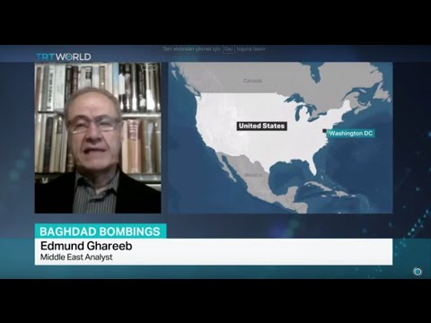 Interview with Middle East analyst Edmund Ghareeb on recent Baghdad bombings