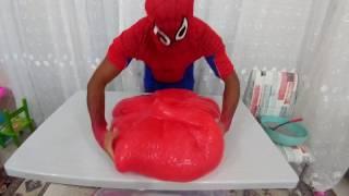 Огромный слайм.Лизун 40 килограм.Видео для детей.Игра для детей.