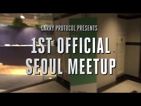 [HIGHLIGHT] CARRY PROTOCOL Seoul Meetup - Major Investor & ECA Partner Revealed!
