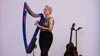 Jude Harpstar : Camac DHC Blue Light electric harp