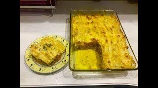 Очень вкусная и нежная лазанья с соусом бешамель!