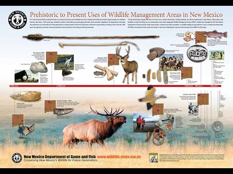 Prehistoric to present uses of wildlife management areas for New mexico game and fish login