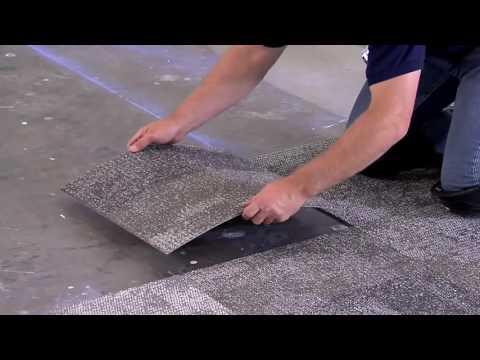 Монтаж ковровой плитки Interface