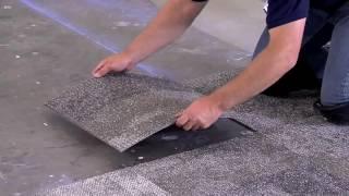видео Ковровая плитка в интерьере