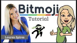 Bitmoji tutorial
