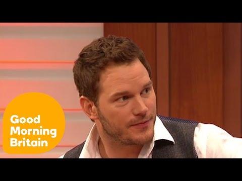 Chris Pratt - Jurassic World Interview   Good Morning Britain
