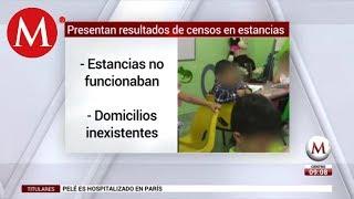 Presentan resultados de censos en estancias infantiles