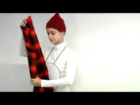 8d2b348fb Cómo elaborar paso a paso tu disfraz de muñeco de nieve - YouTube