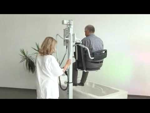 NINA Bath Seat Lift - YouTube