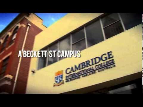簡介, CIC, Cambridge International College, Melbourne