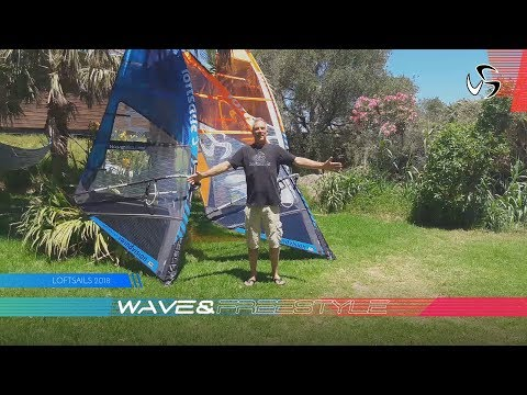 2018 Loftsails wave and freestyle range | Monty Spindler presents