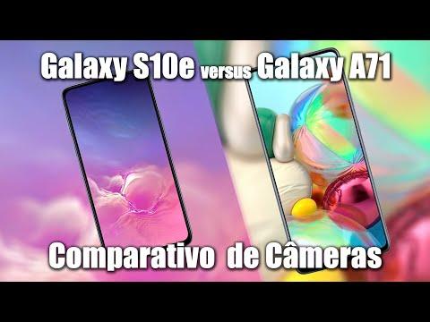 Galaxy A71 vs Galaxy S10e - Comparativo de Câmeras