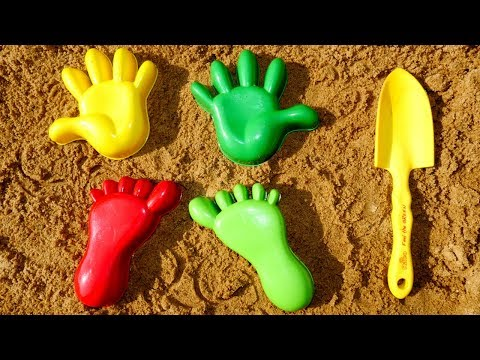 Sandbox Games for Kids. Baby Videos & Sand Game.