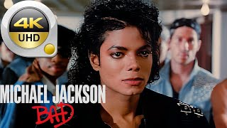 Michael Jackson - Bad | Restored Official Music Video - Remastered and Upscaled To 4K HD