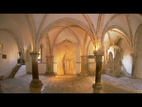 The Old City of Jerusalem - The Last Supper Room (Cenacle), Mount Zion Jerusalem Israel