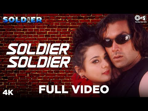 Soldier Soldier Full Video - Soldier | Bobby Deol & Preity Zinta | Kumar Sanu, Alka Yagnik