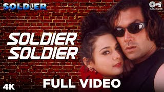 Soldier Soldier | Kumar Sanu | Alka Yagnik | Soldier Movie | Bobby Deol | Preity Zinta | 90's Songs