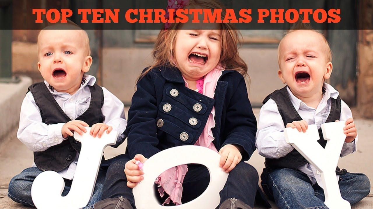 TOP 10 AWKWARD CHRISTMAS PHOTOS YouTube